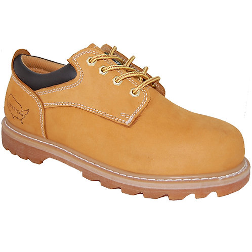 Shorty's Men's 4 inch Leather Low-cut Soft Toe Oxford Rugged Shoe