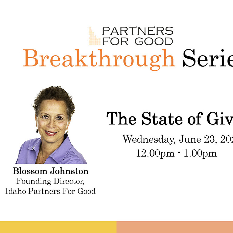 The State Of Giving