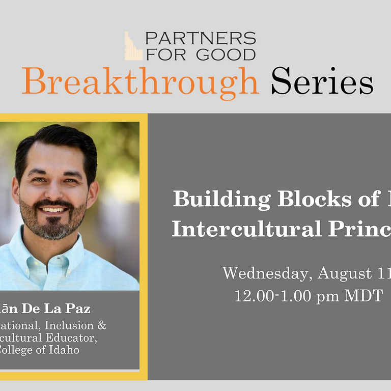 Building Blocks of DEI: Intercultural Principles