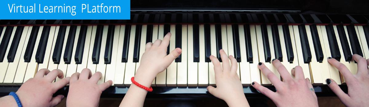Piano with  Daniela M