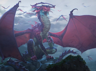 Lathliss, Dragon Queen - 154