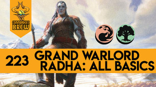 Grand Warlord Radha All Basic Lands - 223