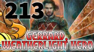 Gerrard, Weatherlight Hero - 213