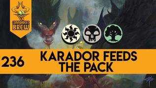 Karador Feeds the Pack - 236