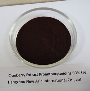 ranberry extract 50% proanthocyanidins