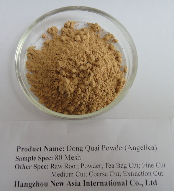 Dong Quai Powder Root Angelica Tea Bag Cut