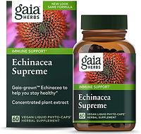 Gaia Herbs Echinacea Supreme, Vegan Liqu