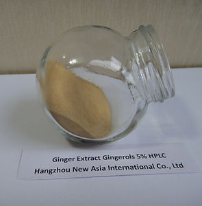 ginger extract gingerols 5% HPLC