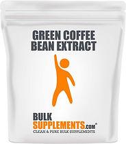 BulkSupplements Pure Green Coffee Bean P