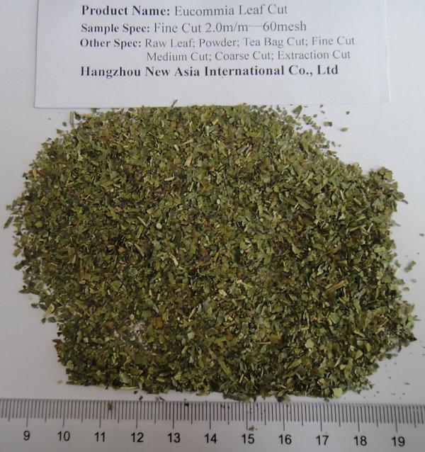 Eucommia Leaf Tea Bag Cut fine cut