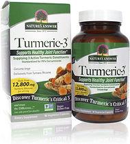 Natures Answer Turmeric-3 - 90 Vegetaria