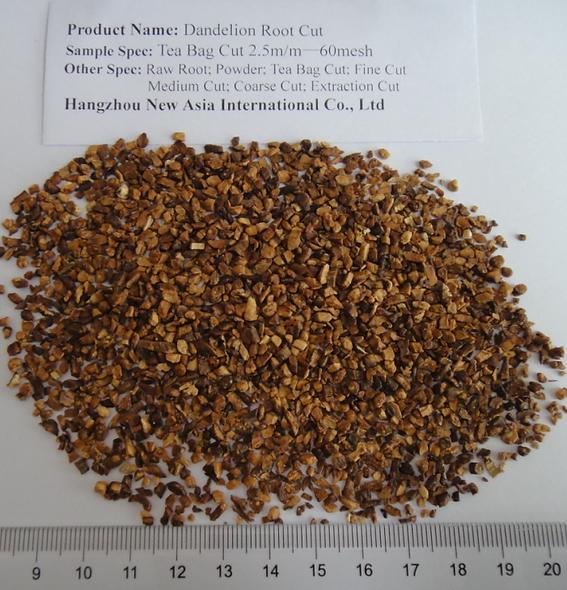 DandelionRoot Tea BagCut