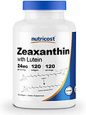 Nutricost Zeaxanthin with Lutein 20mg, 1