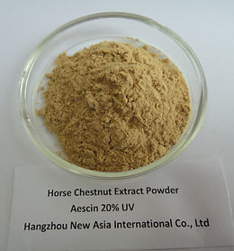 horse chestnut 20% Horse Chestnut Extract Horse Chestnut Seed Extract Aesculus Hippocastanum seed