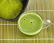 matcha tea green powder