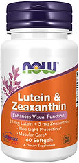 NOW Supplements Lutein & Zeaxanthin with