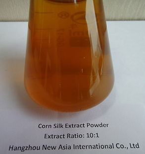 water soluble corn silk extract