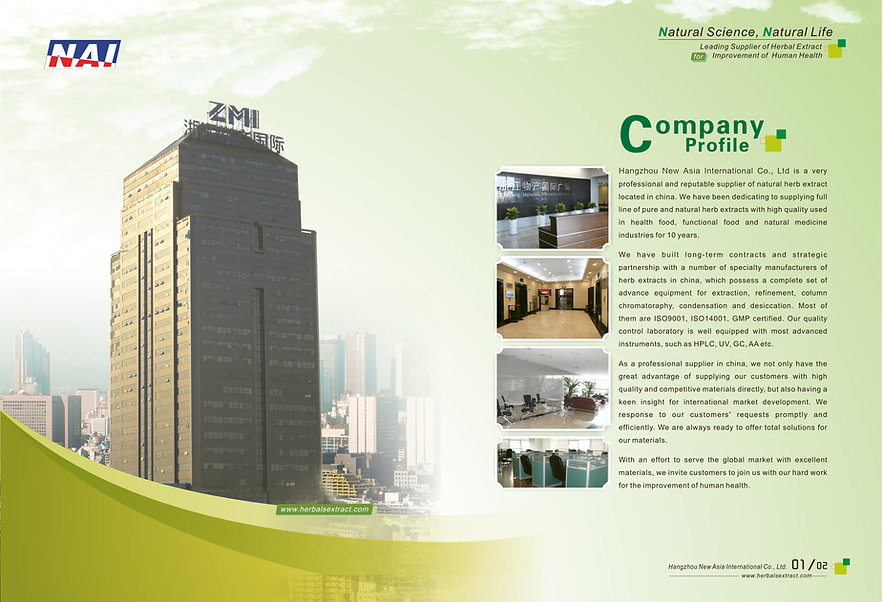 Company Profile Hangzhou New Asia International Co., Ltd