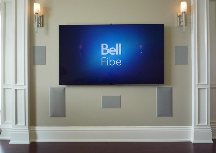 In Wall Speakers with TV