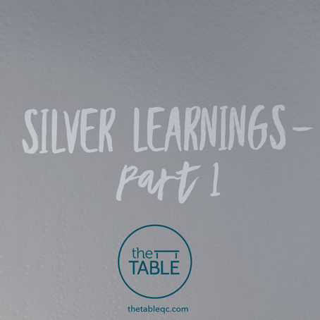 Silver Learnings-  Part 1