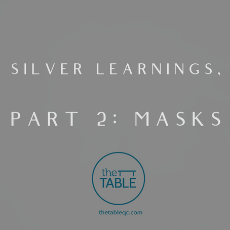 Silver Learnings, Part 2, Masks
