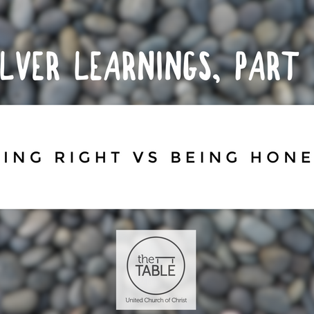 Silver Learnings, Part 4