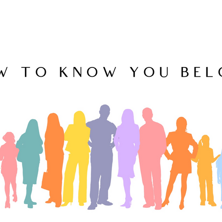 How To Know You Belong