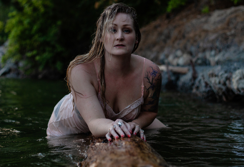 Water Boudoir Photographer Post Falls, ID