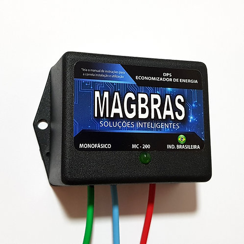 REDUTOR, ECONOMIZADORDE ENERGIA ELÉTRICA DPS MAGBRAS - MOD. MC-200 - MONOFÁSICO