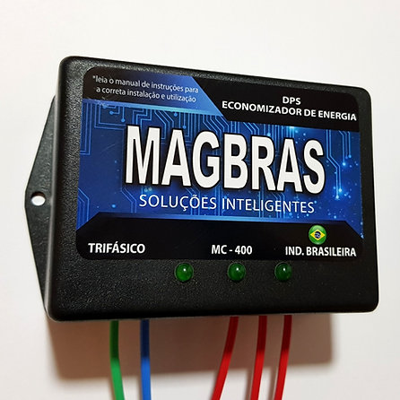 REDUTOR, ECONOMIZADORDE ENERGIA ELÉTRICA DPS MAGBRAS - MOD. MC-400 - TRIFÁSICO