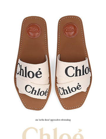 AN IN THE SHOES APPROACH TO REBRANDING CHLOÉ