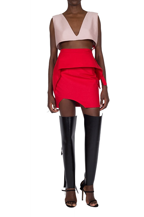 APROPOS SKIRT (Red)