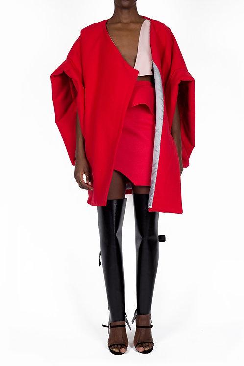 CALLA II COAT (Red)
