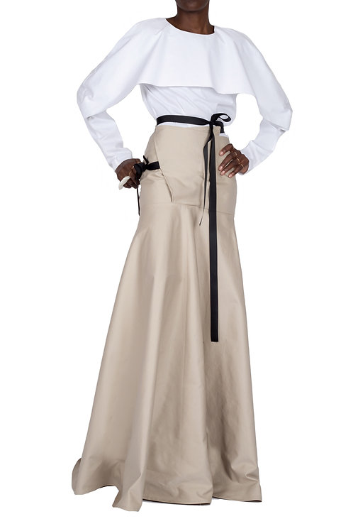 PARAGON Skirt (Beige)