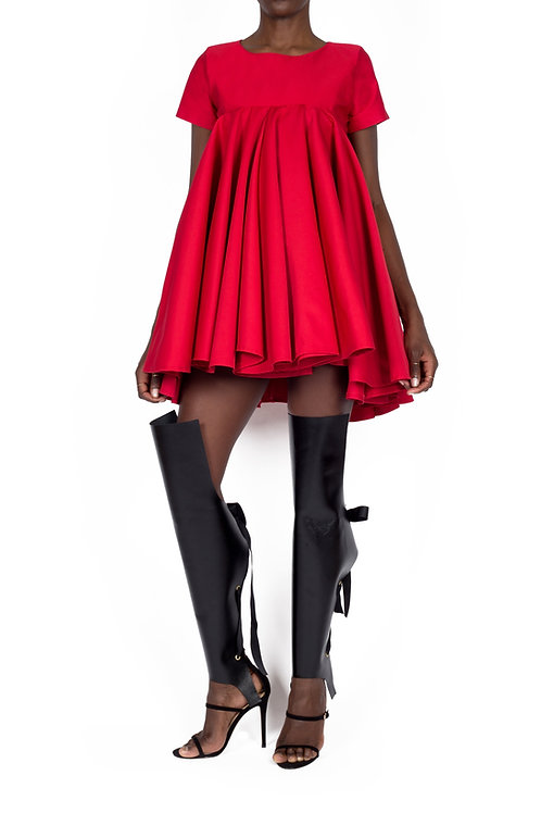 SPRITE DRESS (Red)