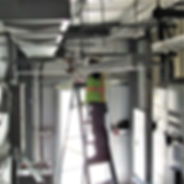 Commercial HVAC installation. Glendale, Arizona
