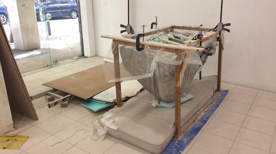 fabric casting