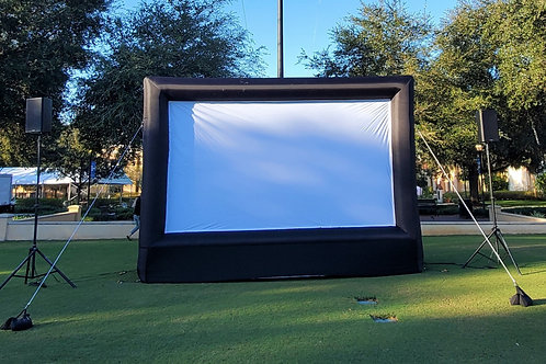 Outdoor Inflatable Projection Screen