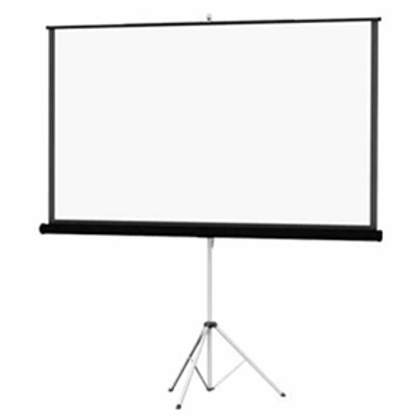 Tripod Screen with Lower Drape