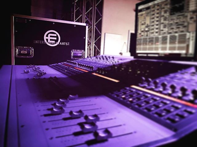 A little profile action 🎚🎚🎚_#avid #venue #profile #audioconsoles #wavesaudio #FOH #boss
