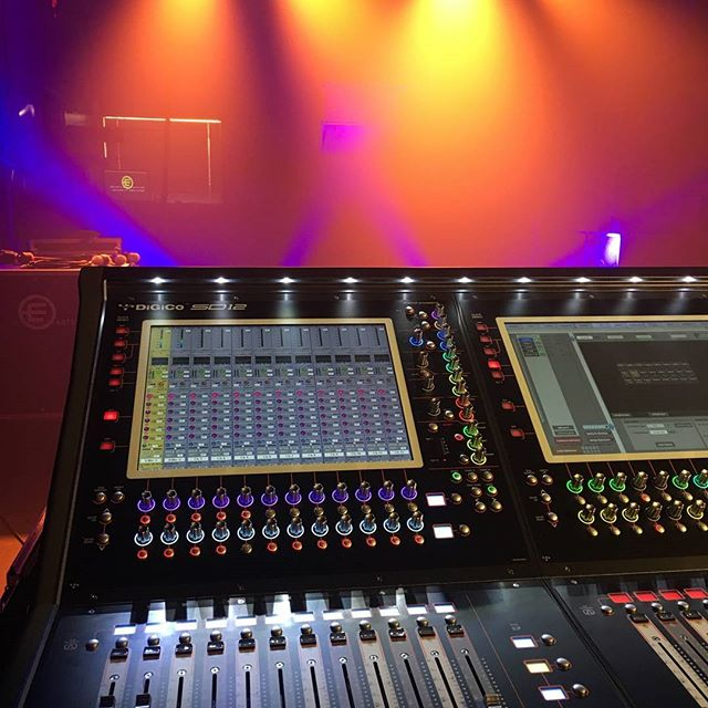 Testing the #Digico #SD12. With the #dbaudiotechnik V series