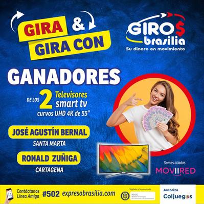 Sorteo Gira y Gira  con Giros Brasilia