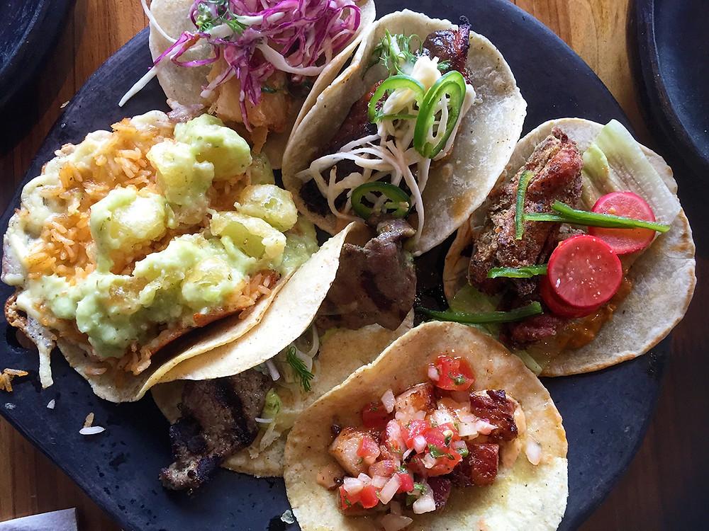 Tacos en Gringo Cantina, Bogotá