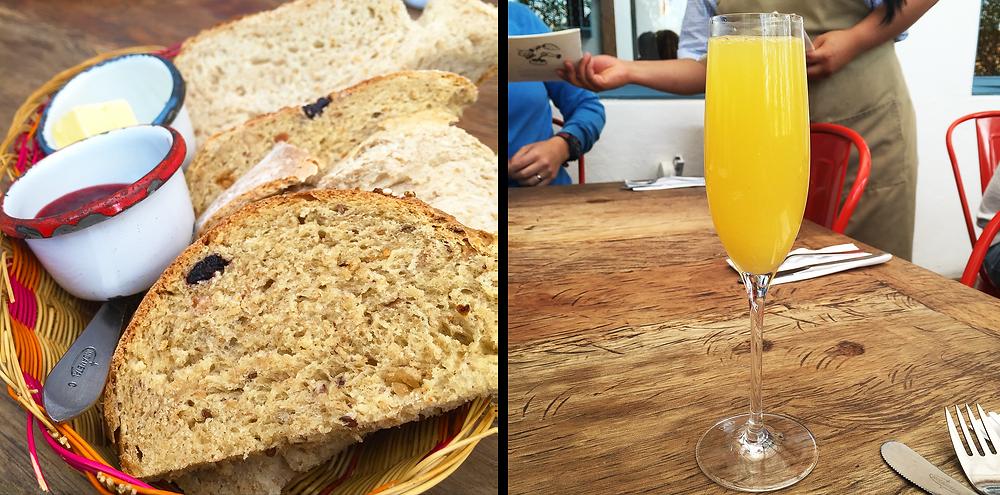 Panes y mimosas en Abasto