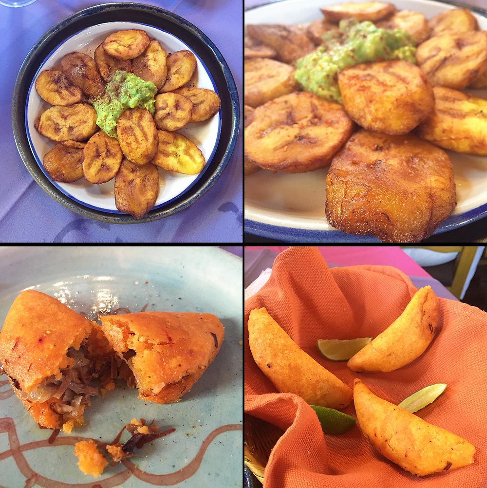 Comida mexicana en el Centro de Bogotá