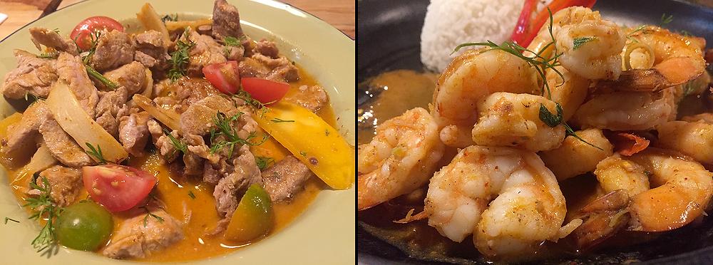 Curry y salteados asiáticos en Bogotá