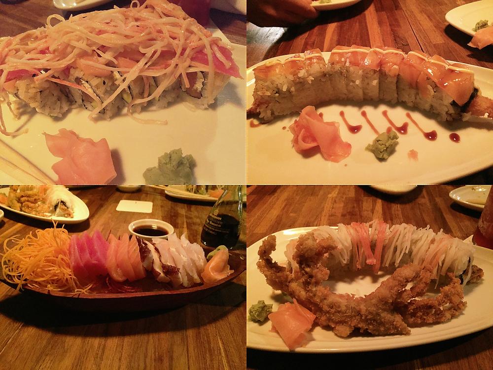 Sushi en Canoa, restaurante de Chapinero