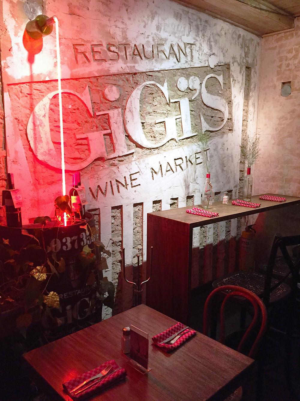 Gigi's Wine Market en Usaquén