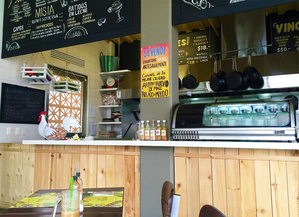 Misia, restaurante de cocina colombiana