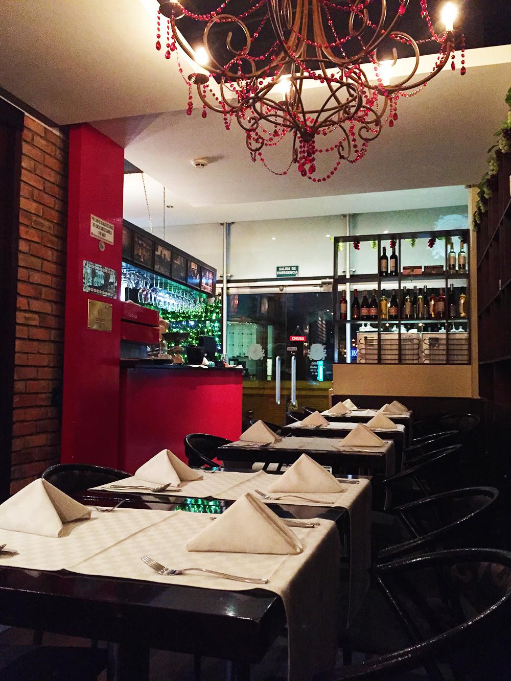 Restaurante Italiano Bogotá